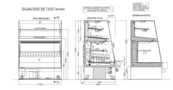DOUBLE KGW OS 110-E SONDER